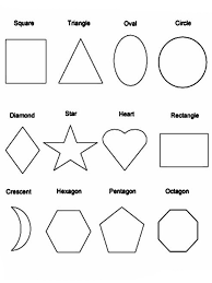 Shapes Coloring Pages 17