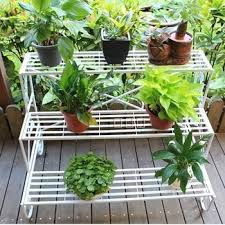 Buy Rustic Iron Ladder Flower Balcony Pot Holder Customize Shelf In Cheap Price On Alibaba