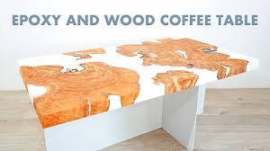 DIY Live Edge Epoxy / Resin Coffee