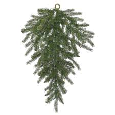 Dunhill Fir Christmas Trees by Christmas Decorations Garland Teardrops Without Lights