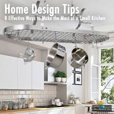 100 Small Kitchen Design Tips Home 8 Effective Ways To Make The Most Of A