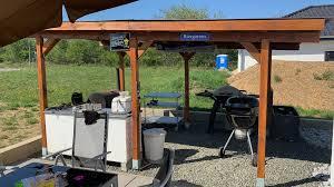 outdoor küche grillplatz fast fertig viele bilder