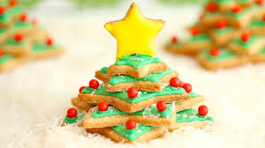 Irish Shortbread Christmas Tree Cookies