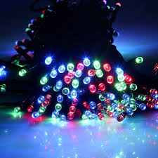 Blinking Xmas Tree Lights by Multi 22m 72ft 200 Led Solar Powered Outdoor Christmas Lights
