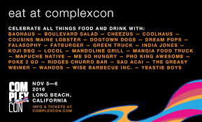 You Can Find Us At The Food Trucks At @complexcon 😍 Tickets ...