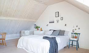 schlafzimmer mit dachschräge clever einrichten das haus