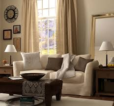 Dark Brown Couch Decorating Ideas by Minimalist Parquet Flooring And White Shade Table Lamp Also Dark