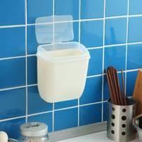 satz 2 kunststoff wand rechteck mülleimer mit deckel einfach zu installieren home badezimmer küche büro