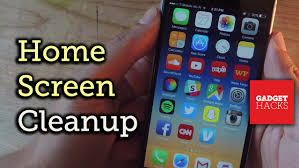 Clean Up Your Home Screen App Clutter with e Tap How To