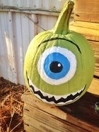 Monsters Inc Mike Wazowski Pumpkin Carving by Mike Wazowski Pumpkin Monsters Inc By Audrey Honeycutt