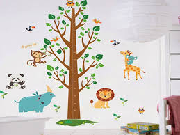stickers chambre bébé arbre chambre stickers chambre enfant élégant stickers muraux enfant
