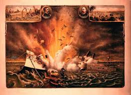 Pictures Of The Uss Maine Sinking by 15 Uss Maine Battleship Sinking In Havana Harbor Mrshealy