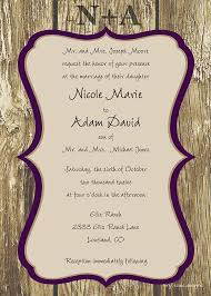 Engraved Love Rustic Wedding Invitation DIY By TinyToadDesigns 1200 Cute