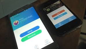 files between Android & iOS w o WiFi Network using IT