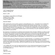 Cover Letter Template Government Of Canada Resume Format