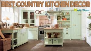 Beautiful Country Kitchen Decor Daily Youtube