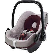 housse de siege auto bebe housse eponge pour siège auto pebble et rock de bebe confort sur