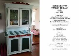 küchen buffet vitrinen schrank antik um 1890