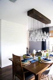 DIY Dining Room Chandelier