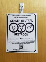 Gender Inclusive Bathroom Sign by Hb2 Bathroom Signs U2014 Come Out U0026 Show Them