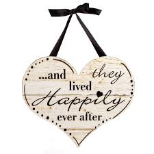 Michaels Wedding Car Decorations by Happily Ever After Wall Decor With Ribbon Hanger