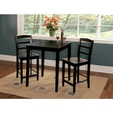 Kmart Kitchen Dinette Set by Boraam Florence Cherry Pub Bar Table 71242 The Home Depot