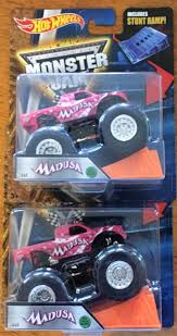 100 Madusa Monster Truck Toy You Are Bidding On A HOT WHEELS 2016 MONSTER JAMS MADUSA LOT OF 2