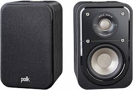 Polk Audio S10 Black Bookshelf Speakers S10BLK