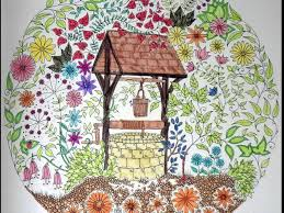 I Colour In Secret Garden An Inky Treasure Hunt Colouring Book By Johanna Basford