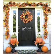 Amazoncom Front Door Decal Hello Fall Living Room