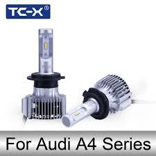 tc x h1 h7 h11 h3 auto led headlight bulbs for audi a4 b4 b5 b6 b7