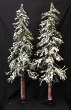 Downswept Slim Christmas Tree by Alpine Christmas Tree Ebay