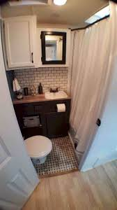 Reno Bathroom Rhcom I Rv Renovation Like The Cabinet Hardware For My Camper