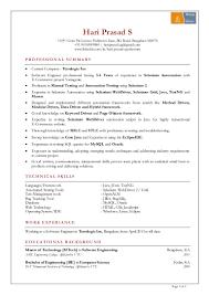 Hari Prasad Resume