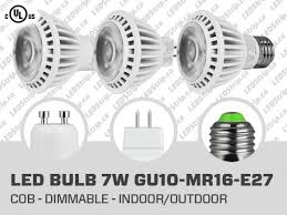 7w dimmable cob led bulb gu10 mr16 e27 led bulb canada