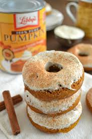 Pumpkin Dunkin Donuts by Spice Cheesecake Donuts