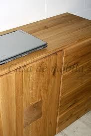 kommode verona 105x80x45cm wildeiche massivholz natur geölt mit hirnholz elementen