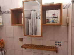 badezimmer möbel set bambus optik