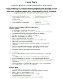 Call Center Resumes Examples Fieldstation Aceeducation Throughout Resume
