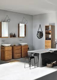 Teak Bathroom Shelving Unit by Square Base Unit Vanity Units From Ethnicraft Architonic