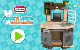 little tikes cook n learn smart kitchen amazon co uk appstore