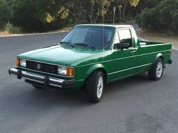 1982 Volkswagen Rabbit V4 Manual Pickup Truck For Sale Napa County, CA