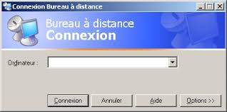 bureau a distance bureau à distance sous windows 2000