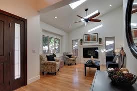 vaulted ceiling living room lighting