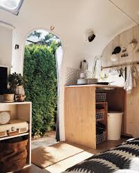 100 Airstream Trailer Interior Before After An In Seattle Gets A