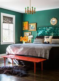 The Color Trick That Livens Up Any Room Emerald Green BedroomsEmerald