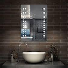 aica sanitär led spiegel klein 39 50cm badspiegel mit