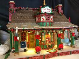 Lemax Halloween Houses 2015 by Lemax East Lake Station At Menards Christmas Village
