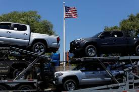 Toyota Warns Against U.S. Move To Curb Auto Imports, Calling Trump ... Toyota Tundra Tacoma Trucks Fargo Nd Truck Dealer Corwin Toyota Tundra Customized 2103 Texas Heatwave Show 192 Custom Lifted 4x4 Rocky Ridge The Ak47 Of Pickup Trucks Japanese Sports Cars 2018 Nada Are Cool But Nothing Wrong With Bed Rack Active Cargo System For Long 2016 Wikipedia Get The Scoop On 2019 Trd Pro Lineup Redesign Diesel Rumors News Release Date Love That Stance Tacoma Rugged Midsize Returns With New Design 1983 Sr5 Pickup Mirage Limited Edition