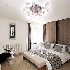 modern flush mount chandelier living room 16 lights